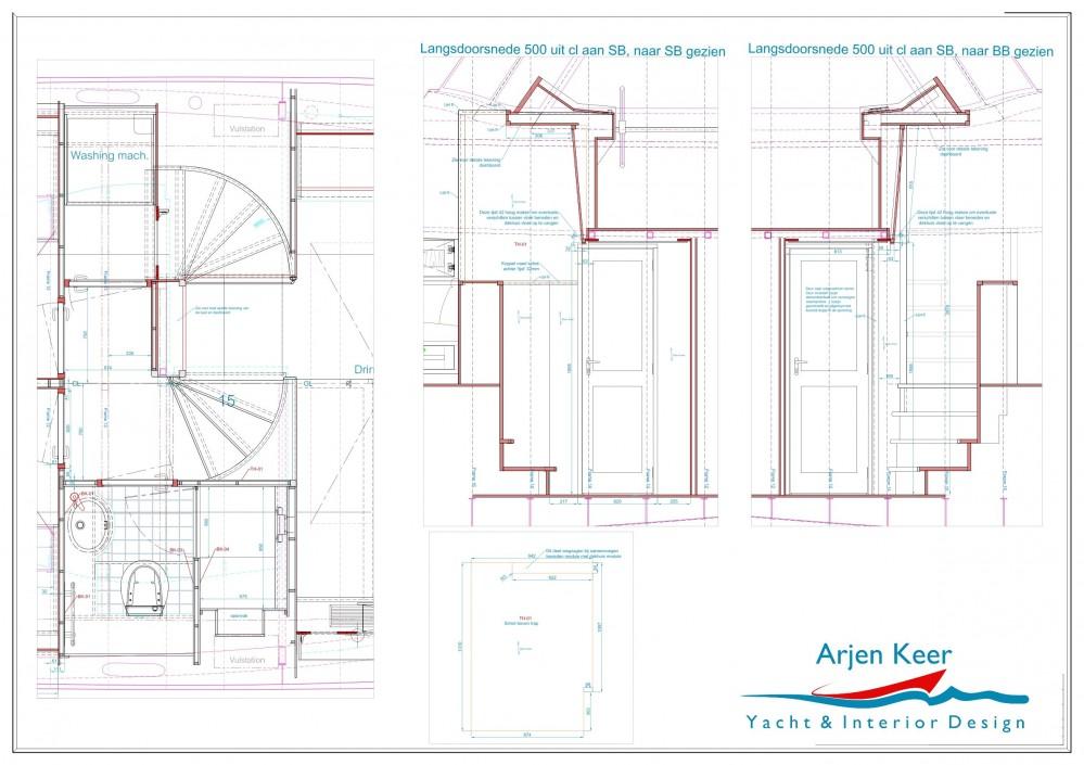 Interior Design Drawings In Interior 3d Modeling Interiordetails Workshop Drawing Drawings Interior Arjen Keer Yachtdesign